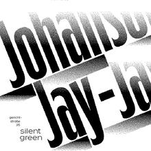 Jay-Jay Johanson, Berlin tour posters
