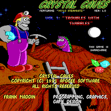 <cite>Crystal Caves</cite>