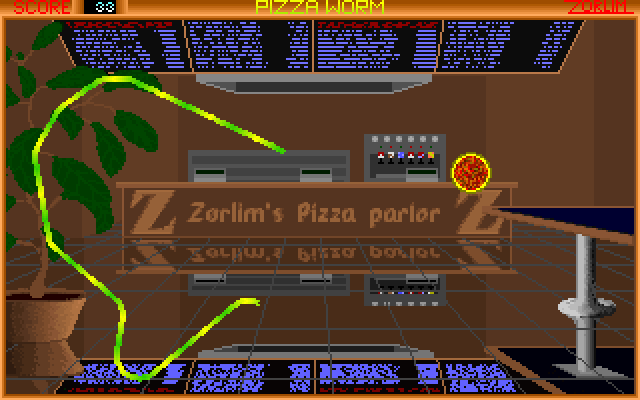Pizza Worm 1