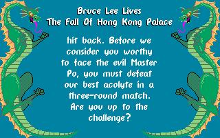 Bruce Lee Lives: The Fall Of Hong Kong Palace 4