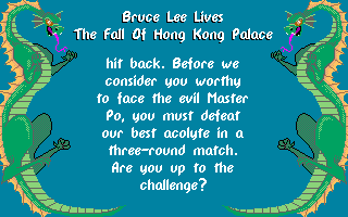 Bruce Lee Lives: The Fall Of Hong Kong Palace 4