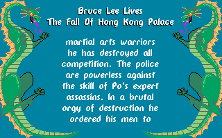 Bruce Lee Lives: The Fall Of Hong Kong Palace 13