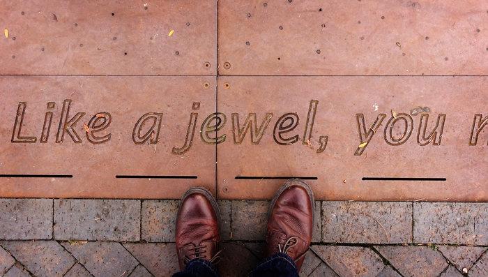 Poem at Golden Square, Birmingham 1
