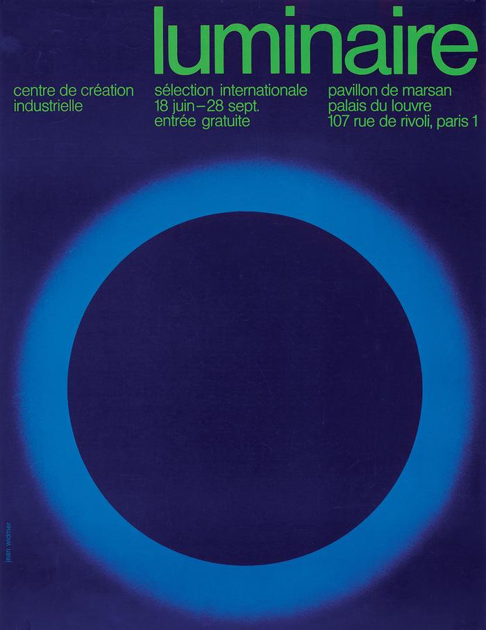 """""""Luminaire. Sélection internationale"""", 1971."""