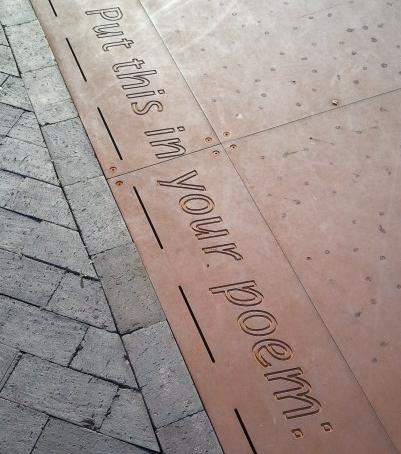 Poem at Golden Square, Birmingham 2