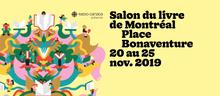 Salon du livre de Montréal 2019