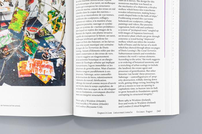 Lyon Contemporary Art Biennale catalog 6