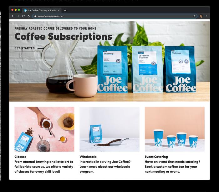 Joe Coffee Company 3
