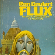 <cite>Flux</cite> by Ron Goulart (DAW Books)