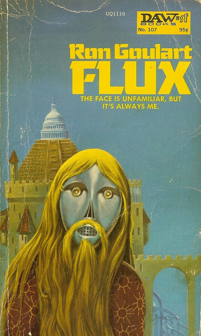 Flux by Ron Goulart (DAW Books)