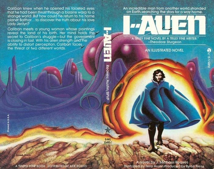 I--Alien by J.Michael Reaves (Ace Books) 2