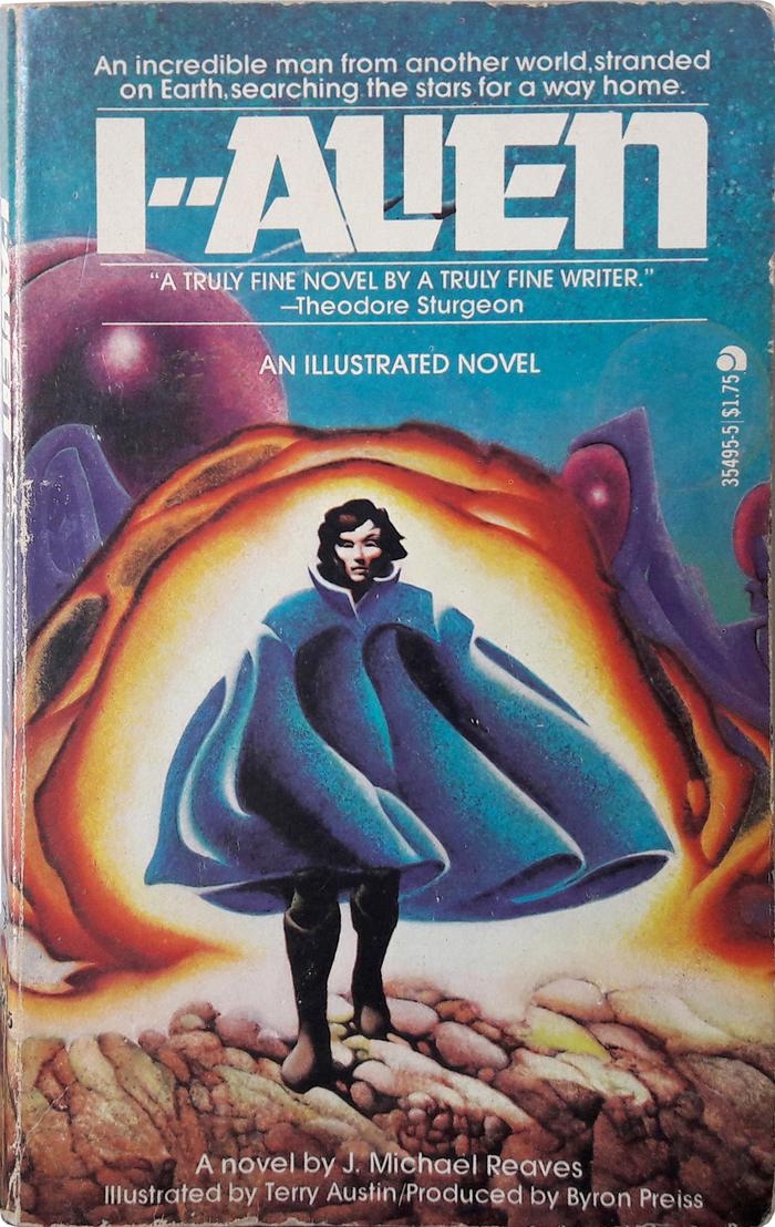 I--Alien by J.Michael Reaves (Ace Books) 1