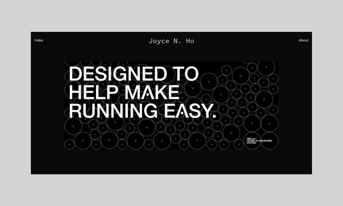 Joyce N. Ho website 2