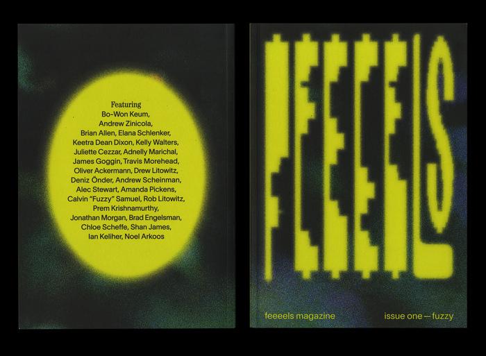 "feeeels magazine, issue 1 – ""fuzzy"" 1"