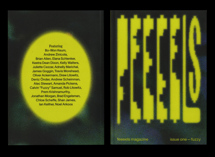 "feeeels magazine, issue 1 – ""fuzzy"" 1"