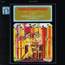 "Richard Ellsasser – Charles-Marie Widor's <cite>Organ Symphony No.<span class=""nbsp"">&nbsp;</span>5</cite>, No. 1 (Nonesuch) album art"