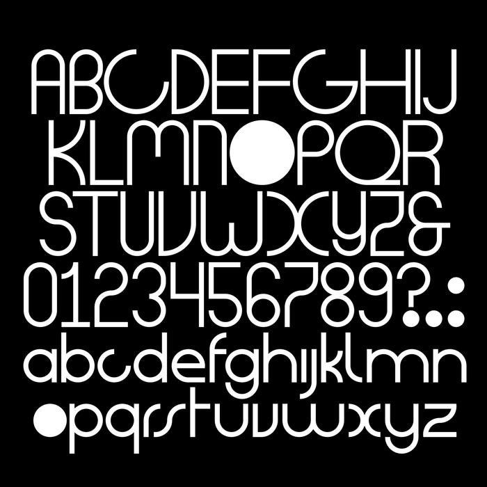 DD dot glyph set