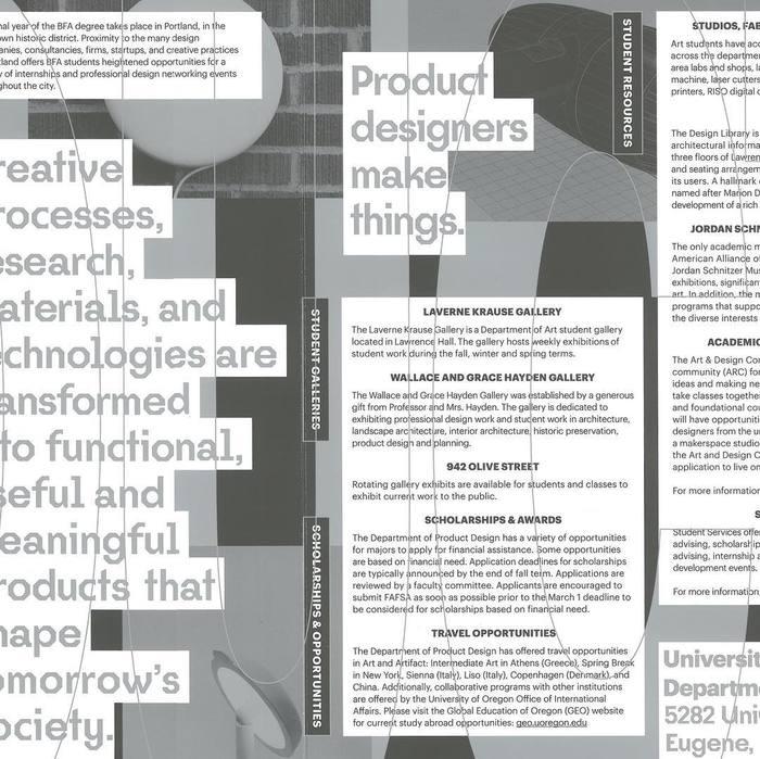 Product Design handbook, University of Oregon 3