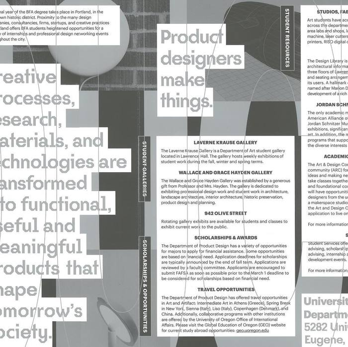 Product Design handbook, University of Oregon 3