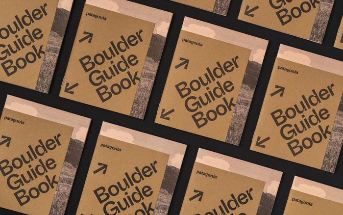 Patagonia Boulder Guide Book 1