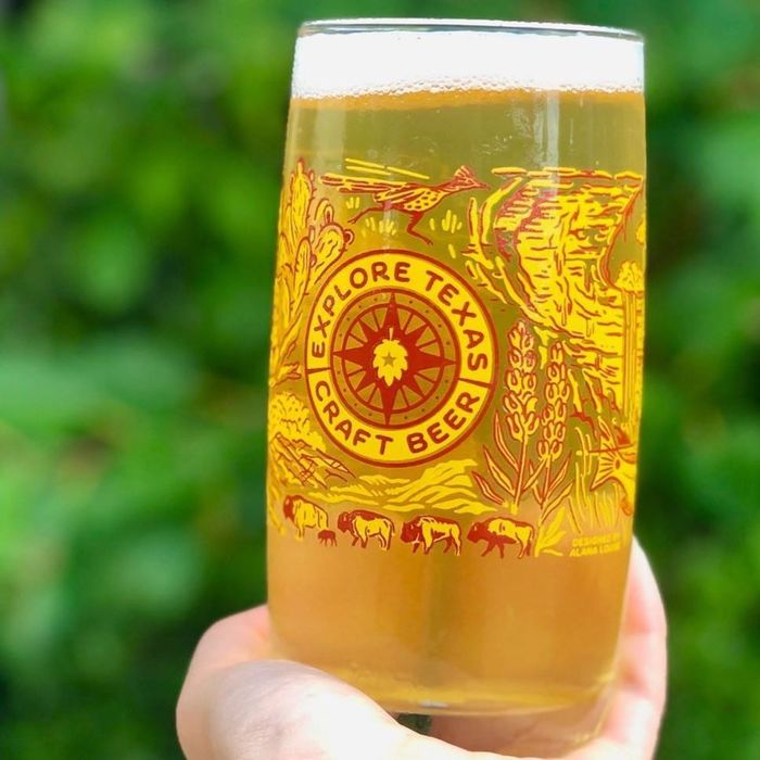 Explore Texas Craft Beer glasses 2