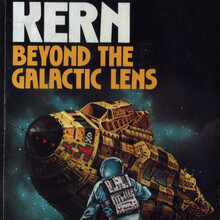 <cite>Seetee Alert!</cite> (1974), <cite>Beyond the Galactic Lens</cite> (1975), <cite>The Galactiad</cite> (1983) by Gregory Kern (DAW)