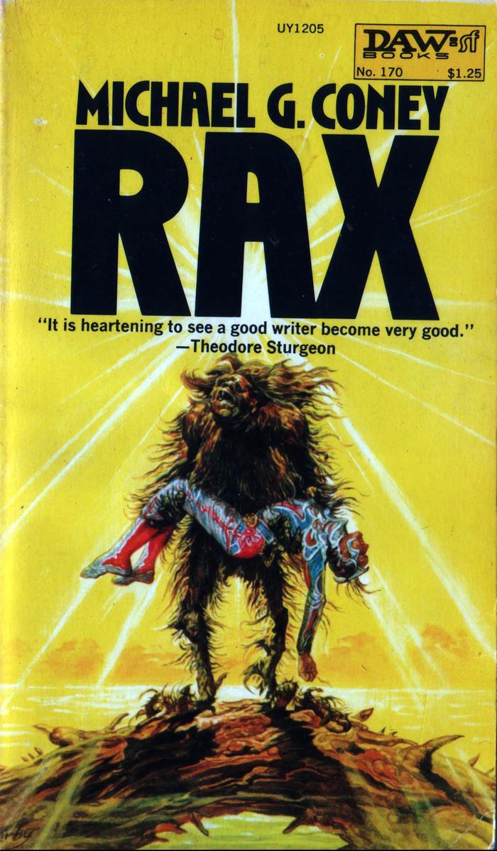 Rax by Michael G. Coney (DAW) 1