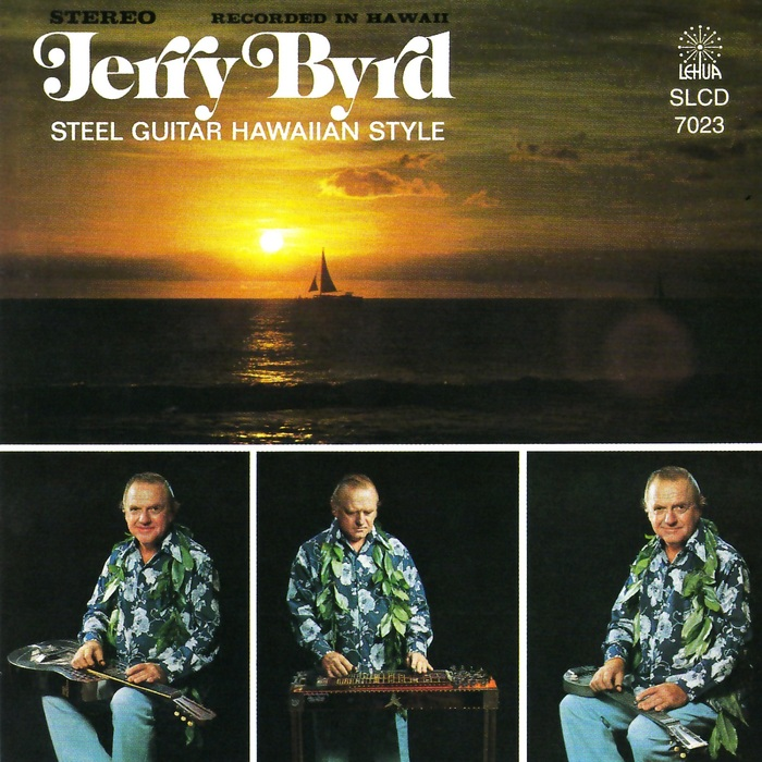 Jerry Byrd – Steel Guitar Hawaiian Style album art 5