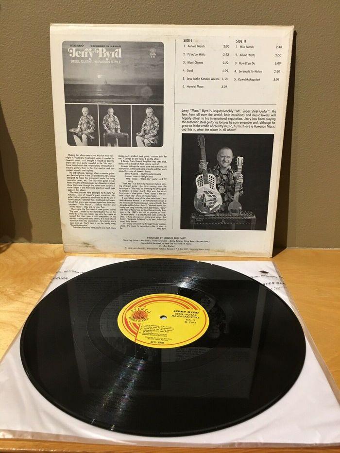 Jerry Byrd – Steel Guitar Hawaiian Style album art 4