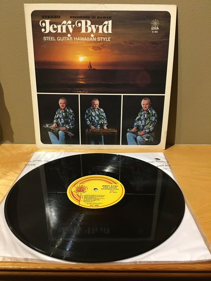 Jerry Byrd – Steel Guitar Hawaiian Style album art 3