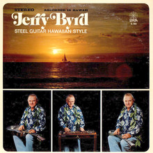 Jerry Byrd – <cite>Steel Guitar Hawaiian Style</cite> album art