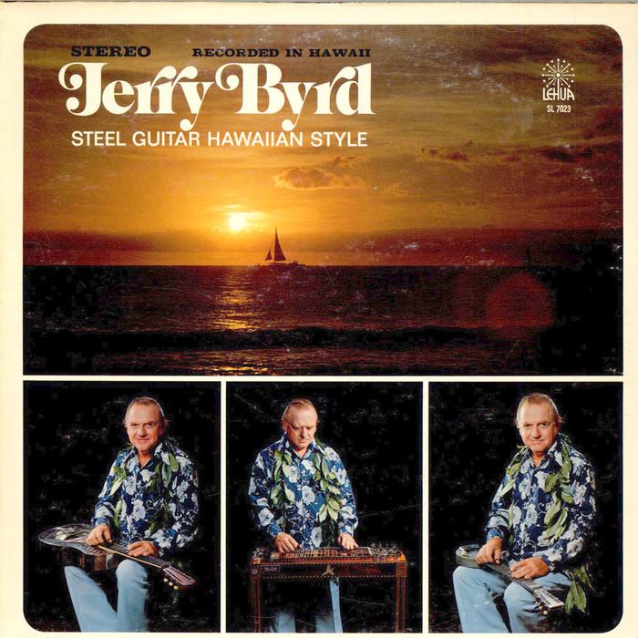 Jerry Byrd – Steel Guitar Hawaiian Style album art 1