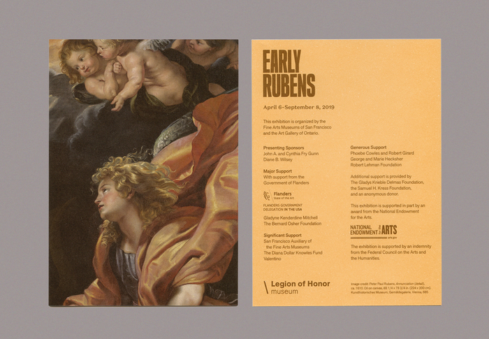 Invitation (front and back)