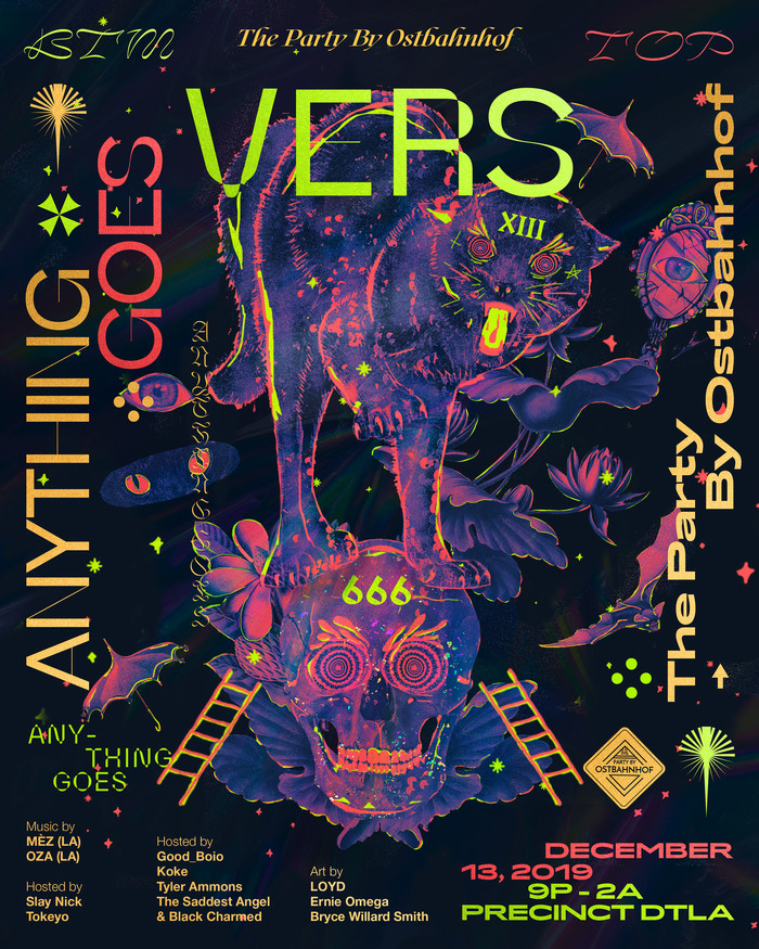 The Party by Ostbahnhof presents VERS: Anything Goes, December 2019 2