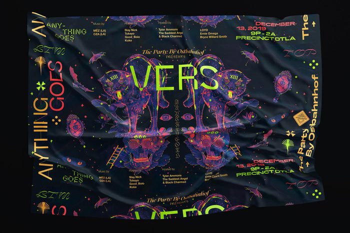 The Party by Ostbahnhof presents VERS: Anything Goes, December 2019 1