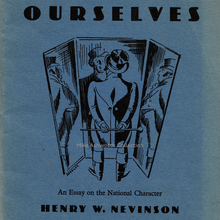 <cite>Ourselves. An Essay on the National Character</cite> by Henry W. Nevinson