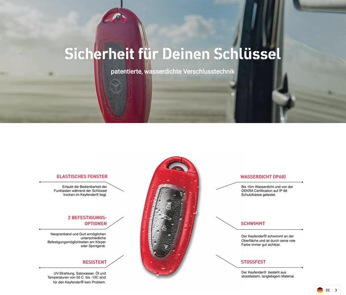 Keyfender brand design 8