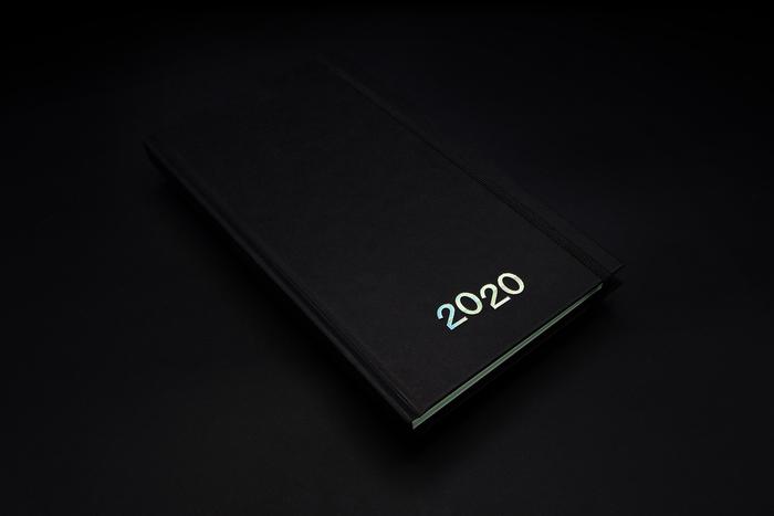 2020 weekly diary, Hoppípolla Edizioni 2