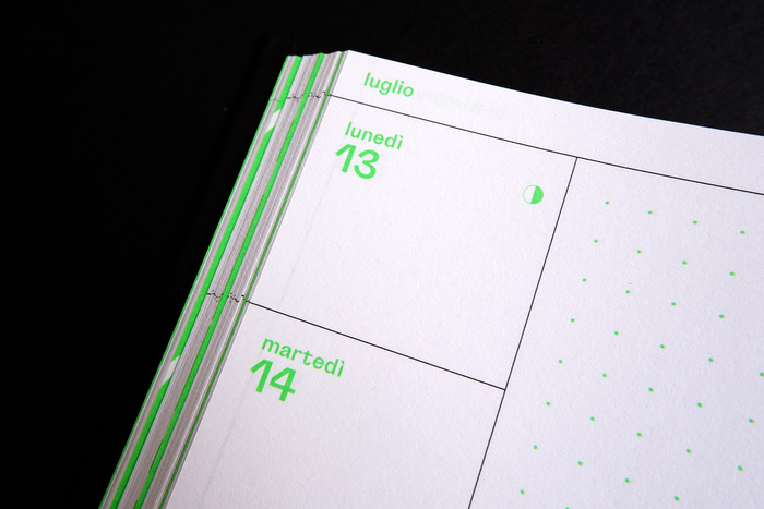 2020 weekly diary, Hoppípolla Edizioni 3