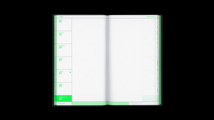 2020 weekly diary, Hoppípolla Edizioni 4