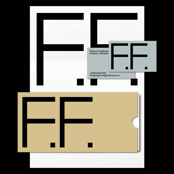 Filippos Fragkogiannis personal visual identity 2