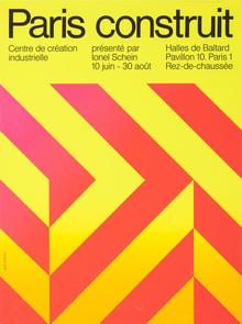 Centre de Création industrielle poster series, 1969–71