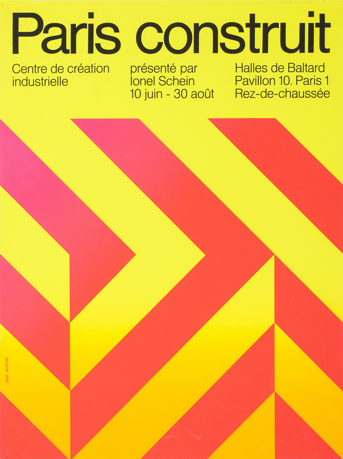 """""""Paris construit. Présenté par Ionel Schein"""", 1970."""