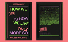 <cite>How We Die is How We Live Only More So</cite>