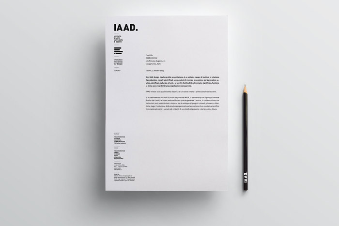 IAAD – The Italian University for Design 5