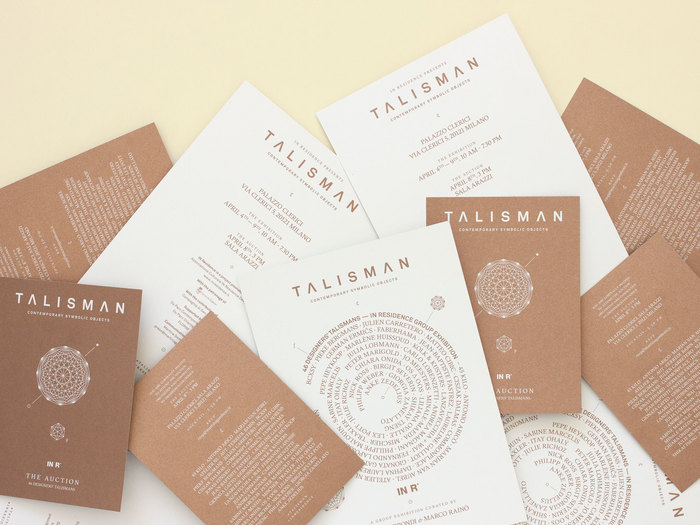 Talisman – Contemporary Symbolic Objects, INResidence 6