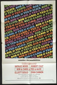 <cite>Bob &amp; Carol &amp; Ted &amp; Alice</cite> movie posters and soundtrack