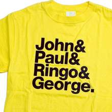 <cite>John &amp; Paul &amp; Ringo &amp; George / &amp;&amp;&amp;</cite> t-shirt