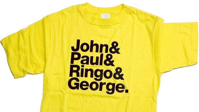 John & Paul & Ringo & George / &&& T-shirt 3