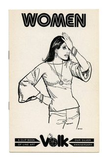 <cite>Clip Books of Line Art</cite>, Volk (1977)